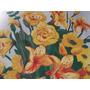 Jarrón Y Flores Hermosa Reproducción De Arte Moderno 50x45