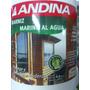 Barniz Marino Andina Al Agua X4 Lts Filtro Uv Premium