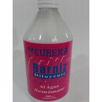 Eureka Barniz Y Diluyente Semimate X 500cc