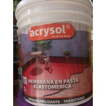 Membrana En Pasta/ Liquida Elastomerica X 4 Lts Oferta !!!