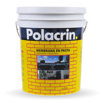 Membrana En Pasta Impermeabilizante 20l Polacrin - Prestigio