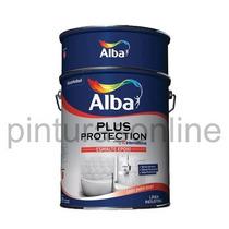 Esmalte Epoxi Blanco Alto Brillo 1lt - Plus Protection Alba