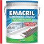 Membrana Liquida Poliuretanica Rojo Emacril X 4 Kg Techo