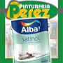 Satinol Esmalte Sintetico Satinado Blanco 4 Lts Pintura Alba