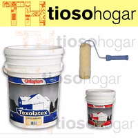 Combo Pintura Latex Interior 20 Lts + 1 Enduido + Rodillo
