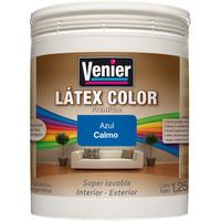 Latex Color Venier 1 Lts Super Lavable Int-ext 14 Colores