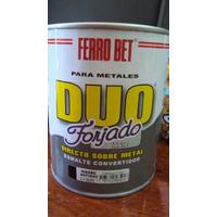 Pinturas Forjadas- Conv. Metales/mad. Ferrobet Forjado 1 Lt.
