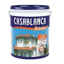 Casablanca Látex Exterior Bco Mate 10 L - El Dante