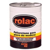 Laca Poliuretano Rolac X 4lts Plastificante Piso Madera
