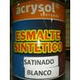 Esmalte Sintetico Blanco X4 Lts. Oferta Bte+mate+sat Oferta!