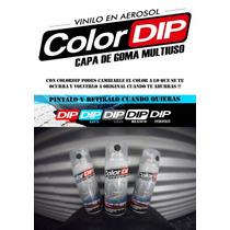 Color Dip Vinilo Liquído En Aerosol