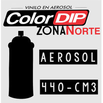 Vinilo Liquido Color Dip Aerosol - Color Negro
