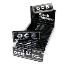 Ocb Papelillo Negro Papel De Armar Premium Negro 50 Cedas