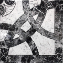 Ceramica Allpa Temple Negro 36x36 1ra Calidad