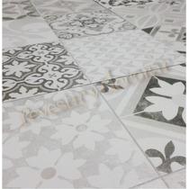 Ceramica-simil Mosaico Calcareo Gris-35x35-1° Calidad