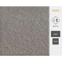 Ceramica Cortines Piedra Basalto Acero 30x45