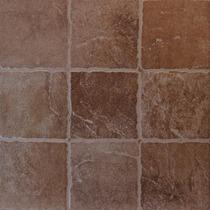 Porfido Marron 35x35 1ra Lourdes Ceramica