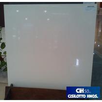 Porcelanato San Lorenzo White Pulido 56,7x56,7 Rectificado