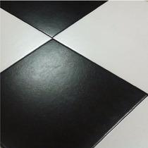 Ceramica Lourdes 35x35 Piso De 1ra Blanco - Negro Plus