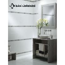 Ceramica Rectificada Net 29.7x45.7 Blanca Brillante