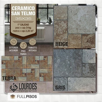 Ceramica Lourdes San Telmo 35x35 1ra Calidad. La Plata