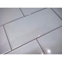 Azulejos Cerámicos Blancos Biselados 7,5 Cm X 15 Cm