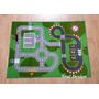 Carpeta Alfombra Calles Pista 100 X 133cm Infantil Fundasoul