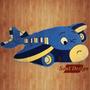 Carpeta Alfombra Infantil Relieve Avion Fundasoul