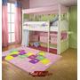 Carpeta Alfombra Rayuela 100 X140cm Nenas Infantil Fundasoul