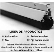 Zócalo Automático Color Aluminio 80 Cm