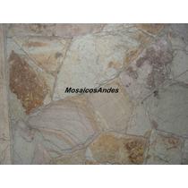 Pisos Y Revestimientos De Piedra. Laja Bariloche Irregular