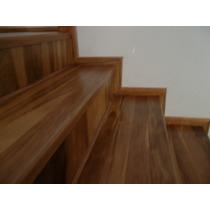 Revestimiento De Escaleras De Madera Artesanal