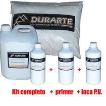 Microcemento Micropiso + Primer + Laca Poliuretanica $ X M2