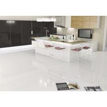 Porcelanato Blanco Super White Rectificado Pulido 60x60