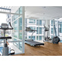 Piso Sport Pvc Diseño Madera Gym Pilates Spinning Gimnasia