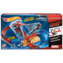 Pista Hot Wheels Spiderman Vs Electro Hombre Araña Forma D 8