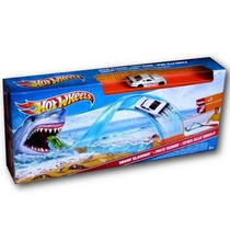 Pista Hot Wheels - Trampa De Tiburon