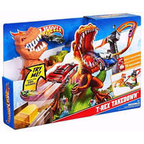 Pista Hot Wheels Duelo De T Rex Takedown Original Mattel
