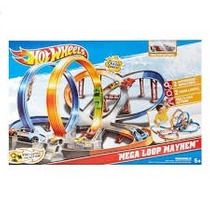 Hot Wheels Mega Pista De Choque