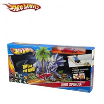 Pista Hot Wheels Dinosaurio Rampa Prehistórica Con Autito