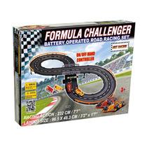 Pista De Autos Fórmula Challenger A Control Remoto 232cm