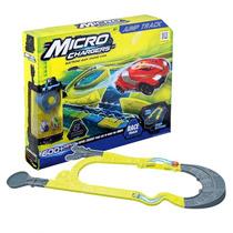Pista Para Autos Microchargers Con Vueltas + 1 Auto Intek