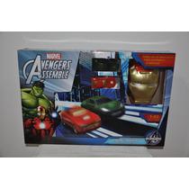 Pista De Carrera Avengers Mas 2 Autos