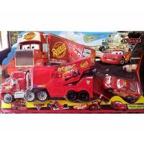 Camion De Cars Rust Eze Rayo Mc Queen Acoplado