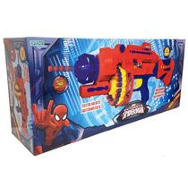 Pistola Blaze Storm Spiderman Automatica Original Ditoys