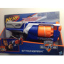 Pistola Nerf Elite Strongarm Shoprio 6 Dardos.. Nueva!