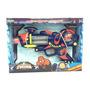 Pistola Spiderman Turbo Con Luz Y Sonido Original Ditoys