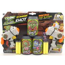 Pistola X-shot Zombie Lanza Dardos Micro Dart Blaster 17mts