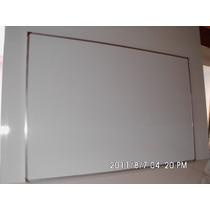 Pizarra Blanca Para Marcador 120x240 Marco De Aluminio
