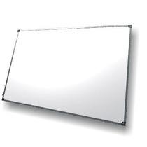 Pizarra Blanca Para Marcador 120x180cm Marco De Aluminio